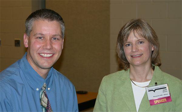 Tim Crocker and Julie Ekman