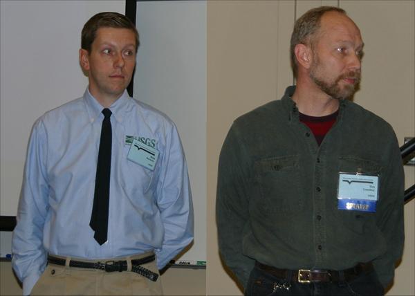 Tim Cowdery and Michael Menheer